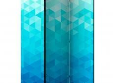 Paraván - Azure pixel [Room Dividers]